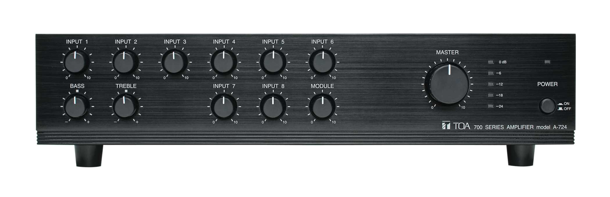 A-700 Series Integrated Mixer/Amplifiers - 60W