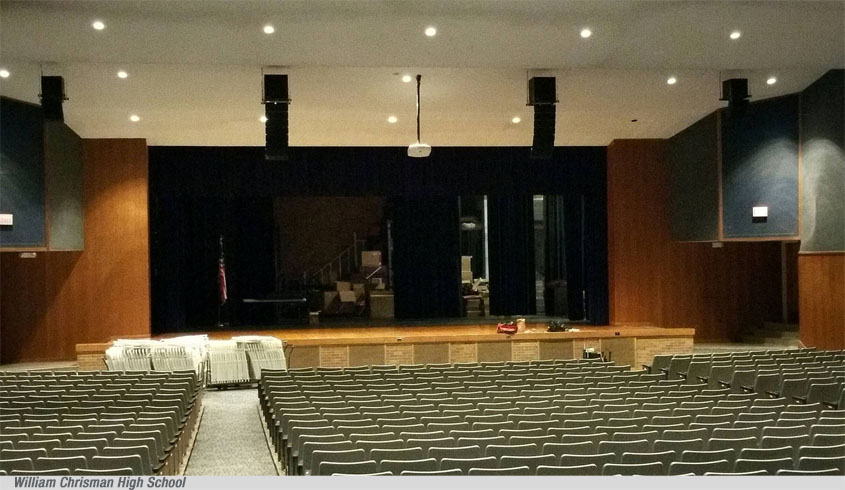 HX-5 and HX-7 Speaker Systems for Harvest Productions